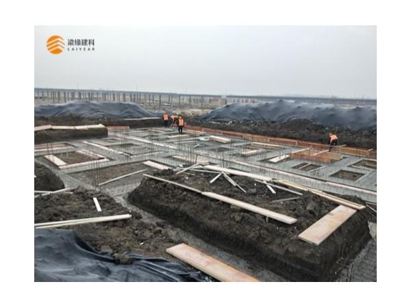 公司河南商水项目进展顺利
