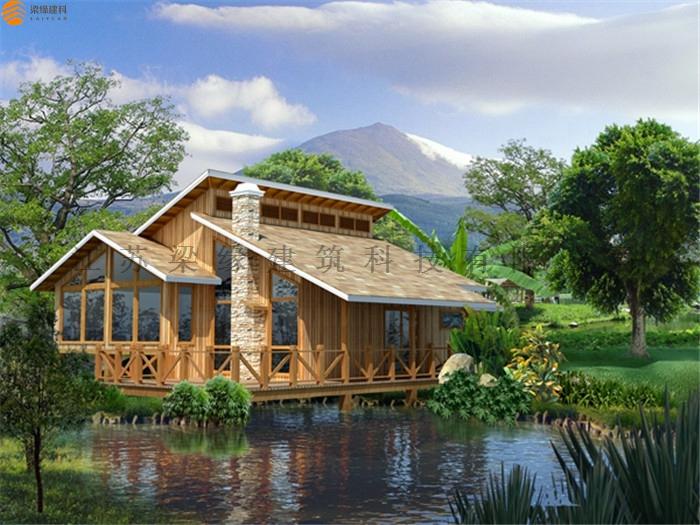 木屋农家乐设计,让时光变得美好