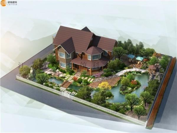 新式环保建筑-度假木屋