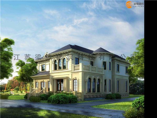 木别墅,温暖的家 健康的家