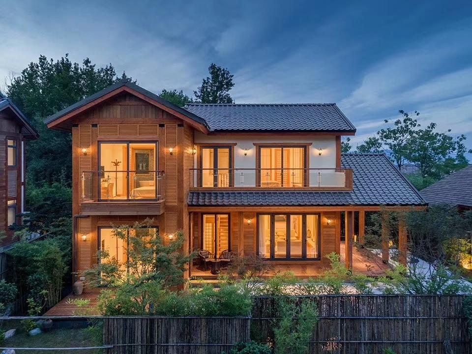什么样的木屋别墅装修风格最好