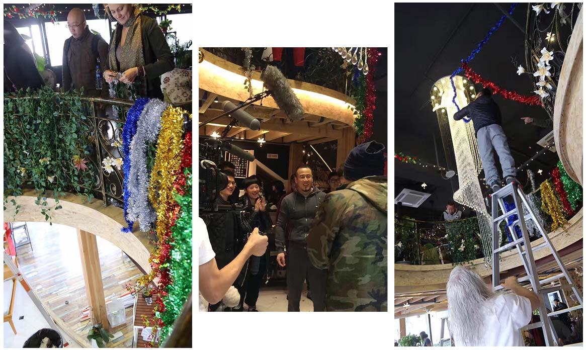 湖南卫视《头号惊喜》电影剧组入驻常州绿博园取景