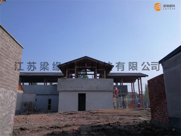民宿木屋建筑