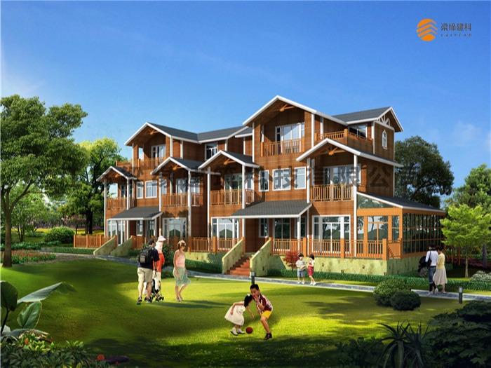 民宿木屋—独特的健康木屋