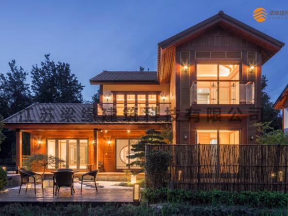 怎样的木材才合适木屋别墅使用标准?