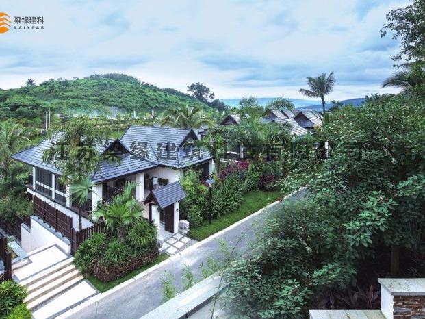 度假木屋建设在景区中相关建议