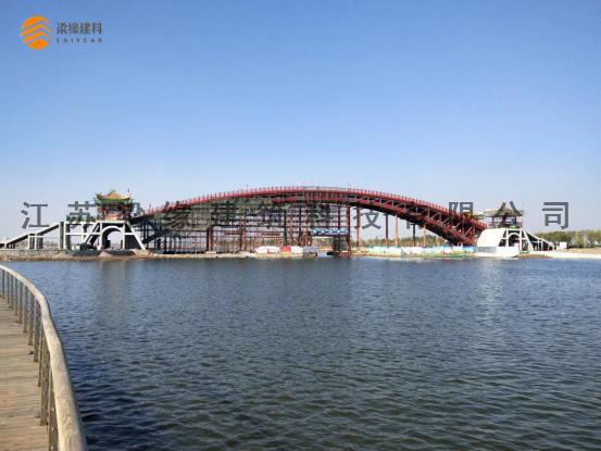 木质景观桥梁