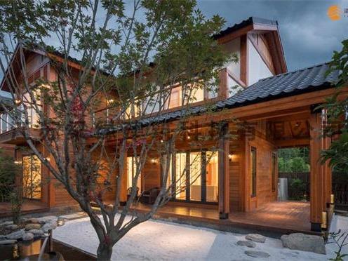 民宿木屋,最环保的结构体系
