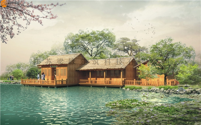 木屋农家乐设计