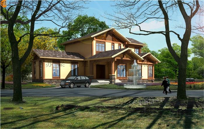 重型木结构房屋