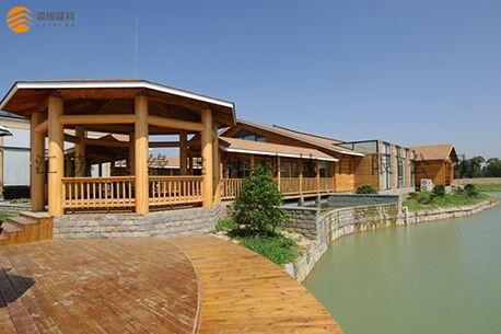 太湖帕堤欧木结构会所