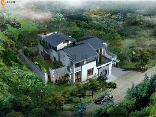 LYSR(5)木结构别墅