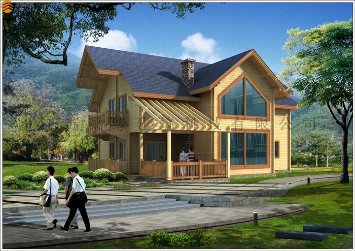 私人木屋别墅