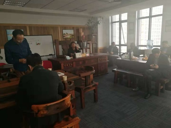 热烈欢迎盐城商会领导于11月28日到我司考察工作