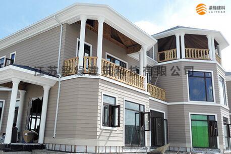 吴江通通热木结构企业接待会所