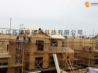 中天集团凤凰谷木结构度假木别墅