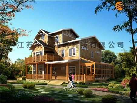 木结构别墅多少钱?