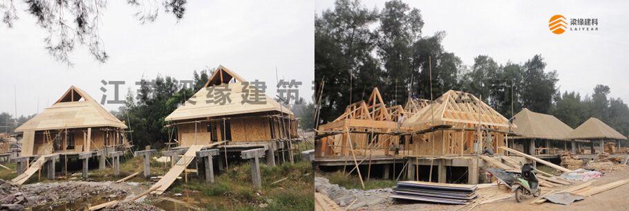 温州灵昆生态木结构度假村