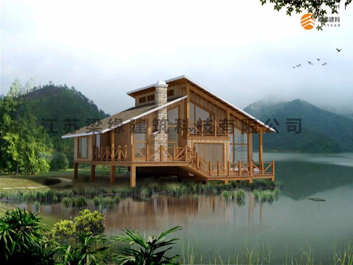 木屋建造 木别墅建造