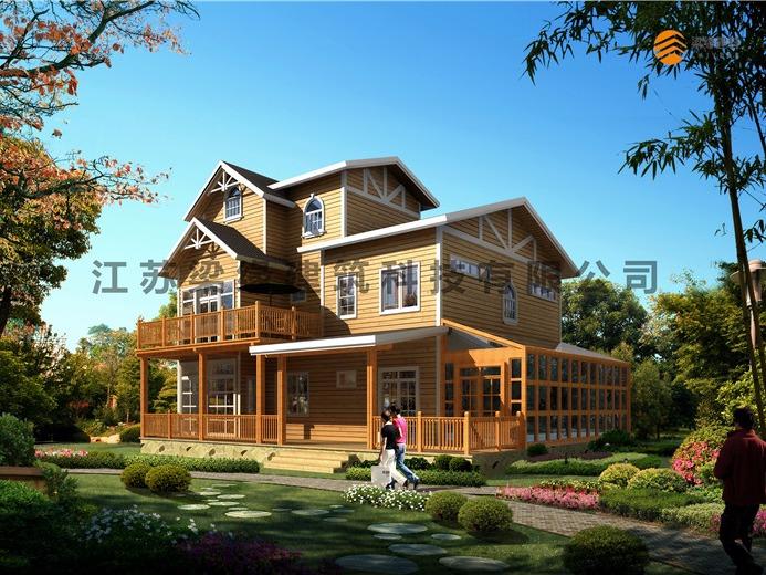 农村合适建造木别墅吗?