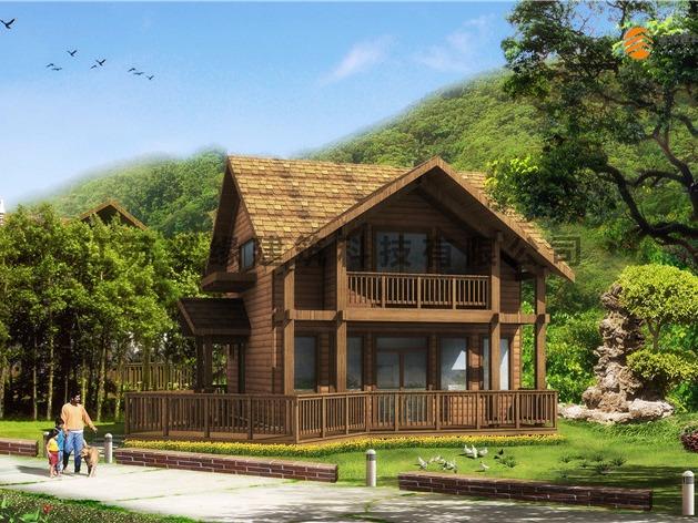 LYFC(7)露营地木屋
