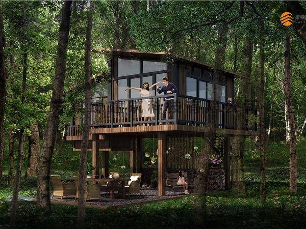 LYFC(6)景区木屋
