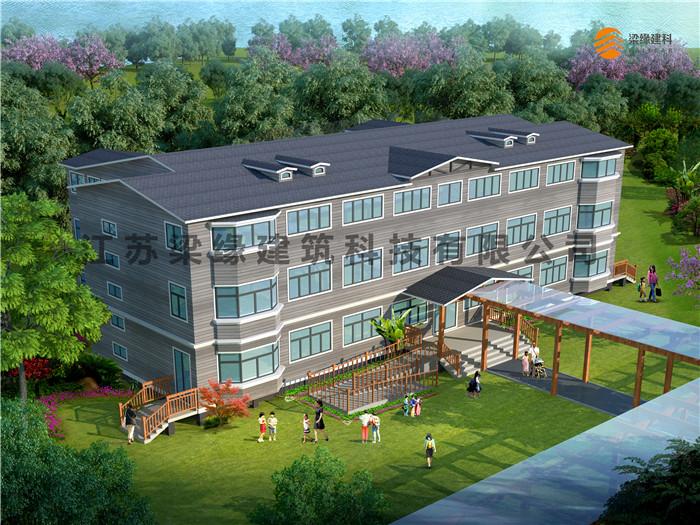 木结构教学楼