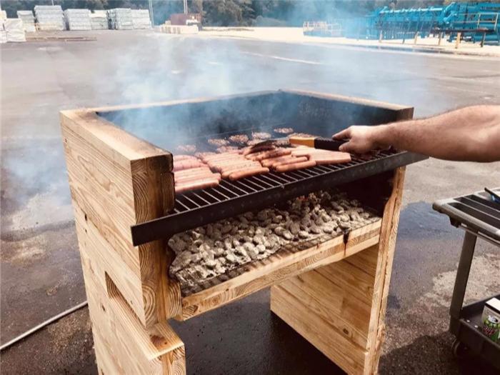 木结构项目过不了消防?一顿烧烤可以解决!