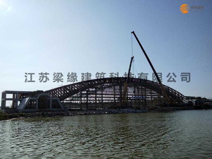木结构桥梁