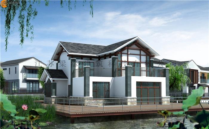 中式木别墅
