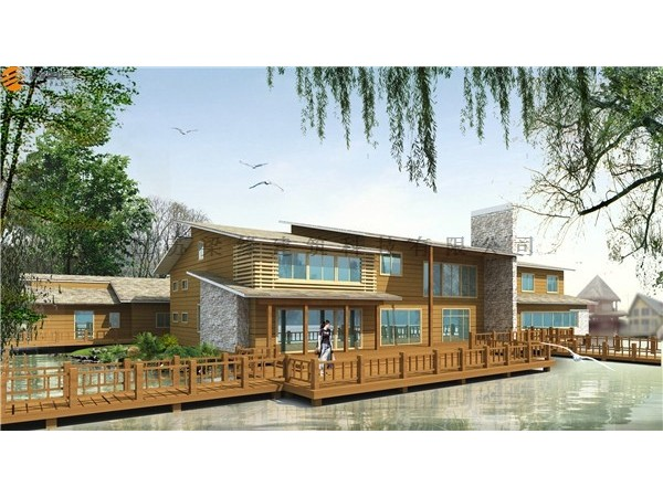 LYSY(5)木屋建筑